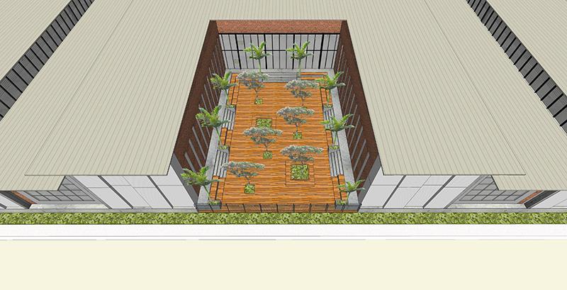 16_Courtyard Aerial